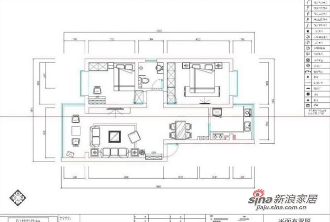 田园 二居 其他图片来自用户2737791853在7.6万装老房100平田园二居18的分享