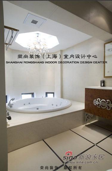 欧式 别墅 卫生间图片来自用户2746948411在一百万全包简欧风豪华别墅21的分享