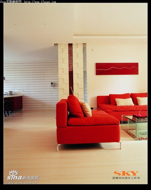 其他 复式 客厅图片来自用户2557963305在时尚风向标—红黑白演绎31的分享
