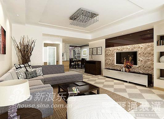 简约 三居 客厅图片来自用户2739378857在聚通-大唐国际49的分享