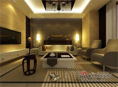 中式 三居 客厅图片来自用户1907696363在宽享跃墅110平中式风至尊体验85的分享