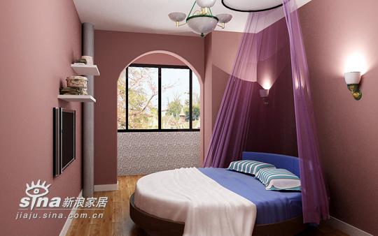 欧式 三居 卧室图片来自用户2746948411在蓝色浪漫——地中海风格14的分享