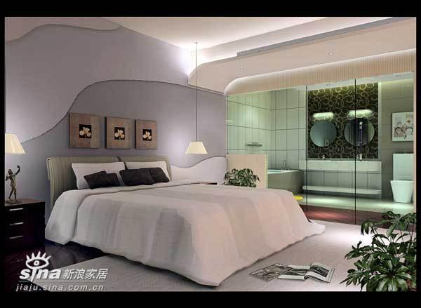 简约 三居 卧室图片来自用户2738845145在室内设计26的分享
