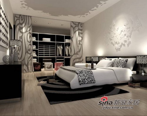 简约 三居 卧室图片来自用户2739081033在6.5打造沉稳大气的简约三居室21的分享