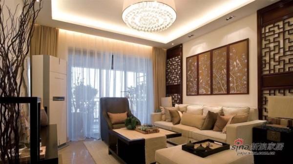 120平新中式古韵馨香2居室实用家