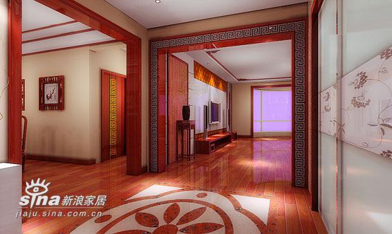 中式 四居 玄关图片来自用户2737751153在260平米中式20的分享