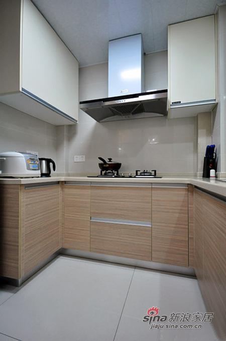 简约 二居 厨房图片来自用户2557010253在80后潮居小白领6万装修90平93的分享