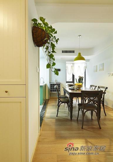 美式 三居 餐厅图片来自用户1907685403在11万铸造140平美式风格三居室45的分享