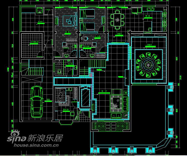 欧式 别墅 户型图图片来自用户2746948411在传说中的豪宅设计32的分享