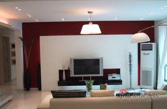 简约 二居 客厅图片来自用户2739081033在88平现代简约品质生活空间91的分享