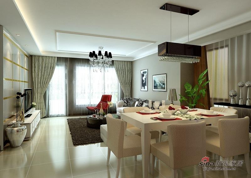 欧式 别墅 客厅图片来自用户2746869241在孔雀城220平米的欧式设计62的分享