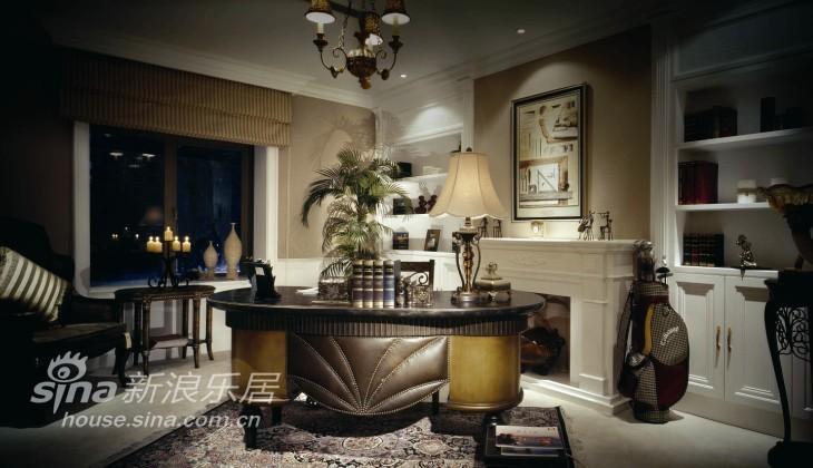 欧式 别墅 书房图片来自用户2772873991在杭州西子湾别墅49的分享