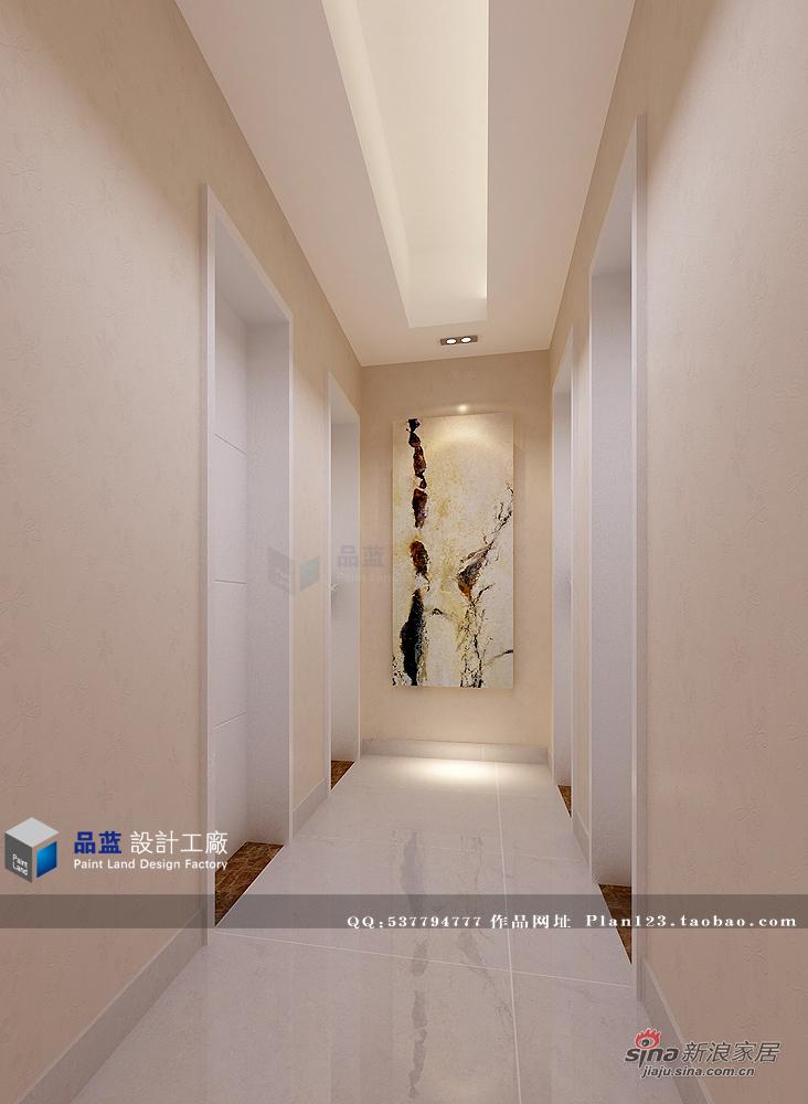 简约 三居 玄关图片来自用户2738813661在【高清】13万打造粉红女郎120平米样板房72的分享