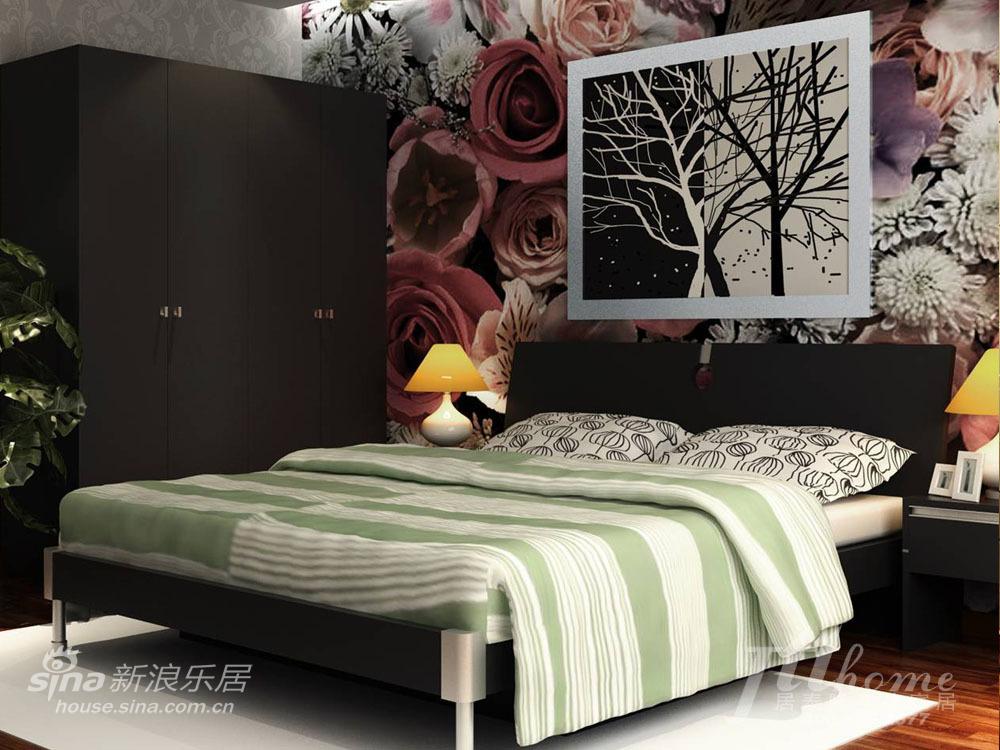简约 三居 卧室图片来自用户2556216825在时尚高雅的完美生活家居装饰44的分享