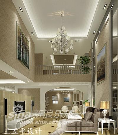 欧式 复式 客厅图片来自用户2746869241在《素.雅》19的分享