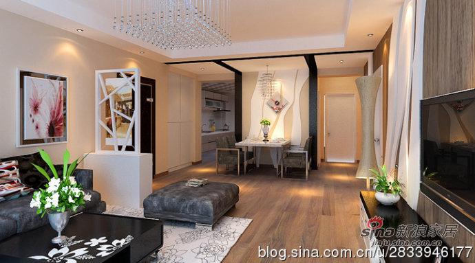 简约 三居 客厅图片来自用户2739153147在温馨浪漫的简约三居室平—天津实创装饰86的分享
