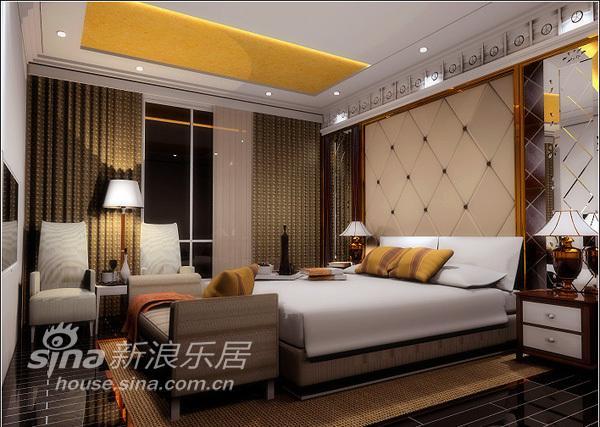 欧式 三居 卧室图片来自用户2557013183在欧式风格三居92的分享