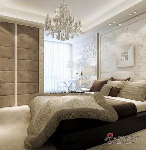简约 三居 卧室图片来自用户2559456651在7万打造精品中式3居17的分享