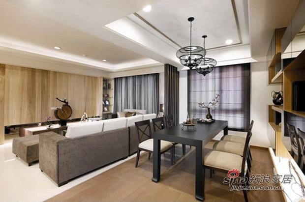 简约 三居 客厅图片来自佰辰生活装饰在7.8万营造100平简约温馨家53的分享