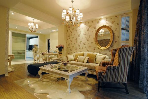 欧式 三居 客厅图片来自用户2557013183在企业高管30万精装200平米简欧美家51的分享