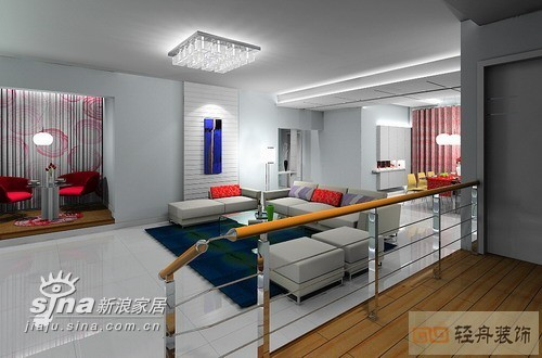 简约 三居 客厅图片来自用户2739081033在九重天花园179的分享