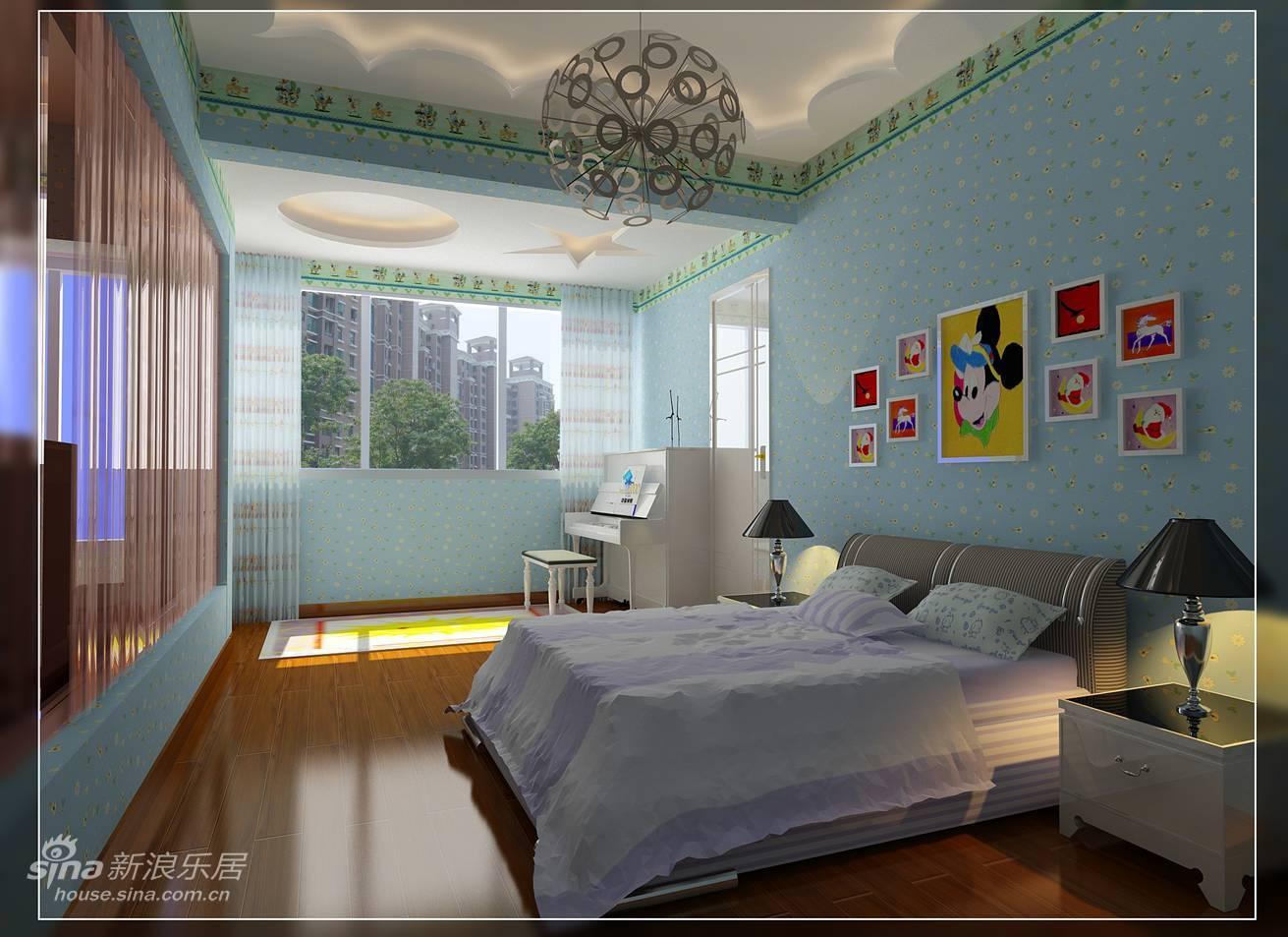 欧式 三居 儿童房图片来自用户2772856065在8万打造156平完美混搭装出温馨典雅气息43的分享