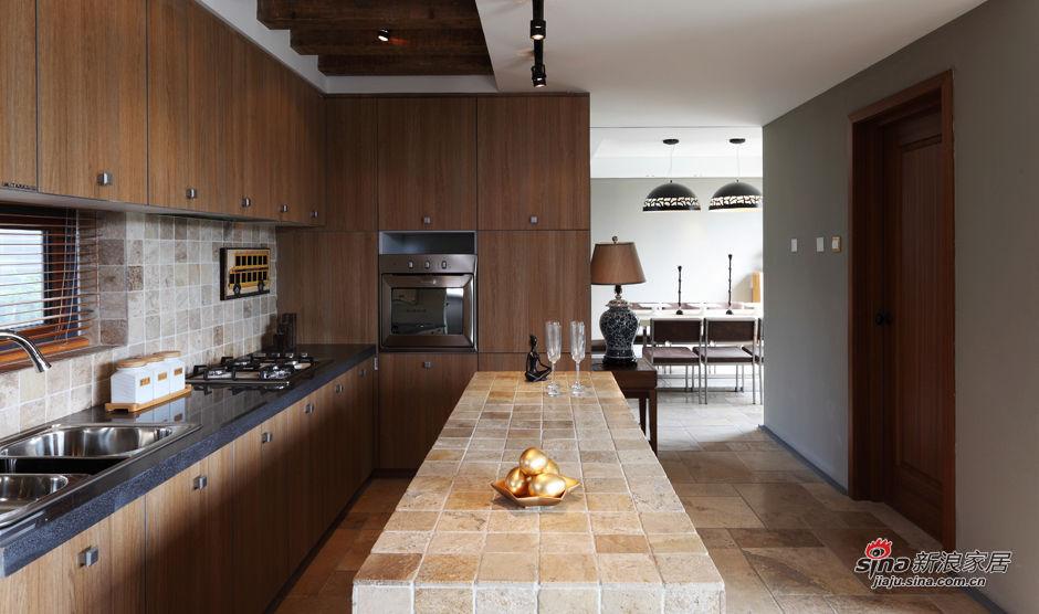 简约 别墅 厨房图片来自用户2737735823在森女打造220平别墅 初夏自然木质家51的分享