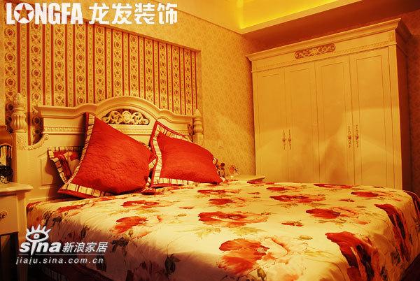 欧式 三居 卧室图片来自用户2746953981在东尚样板间实景70的分享