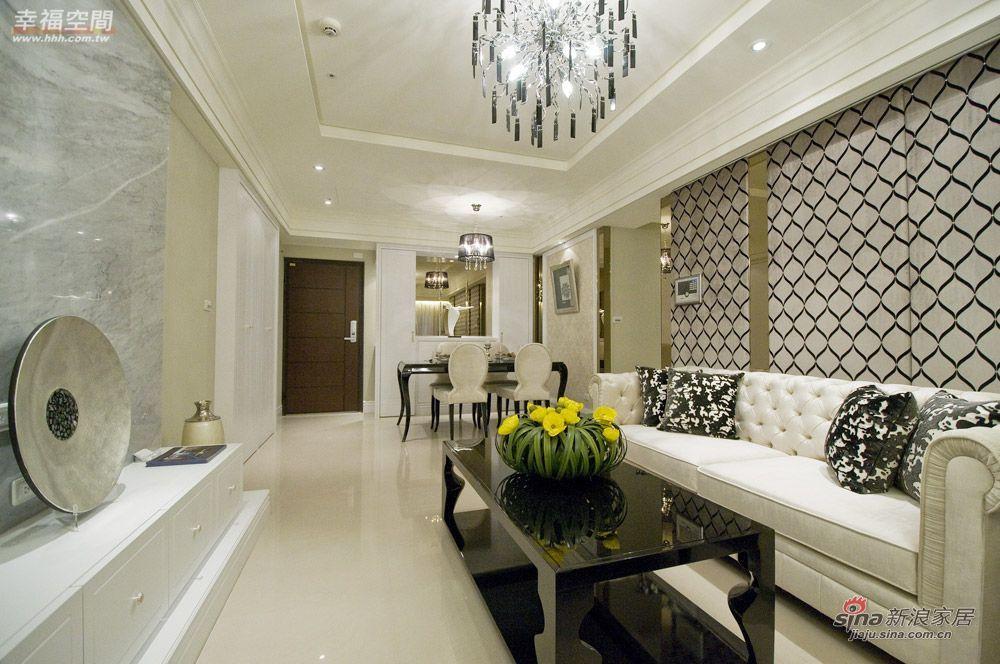 新古典 三居 客厅图片来自幸福空间在132平米新英式古典风尚92的分享
