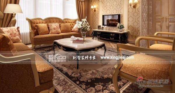 星杰国际设计62万装310㎡别墅