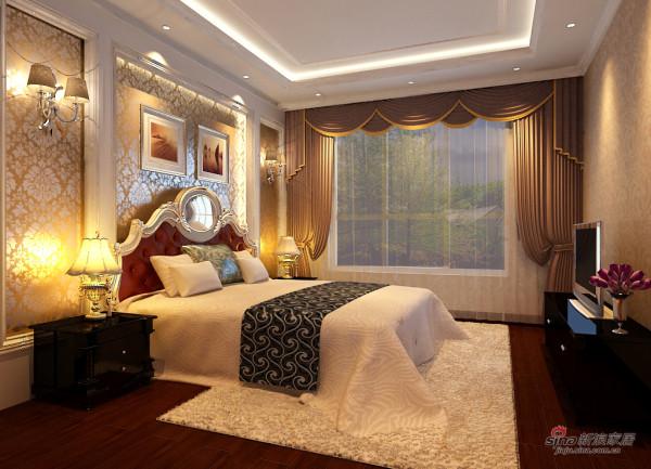恒盛豪庭卧室装修效果图