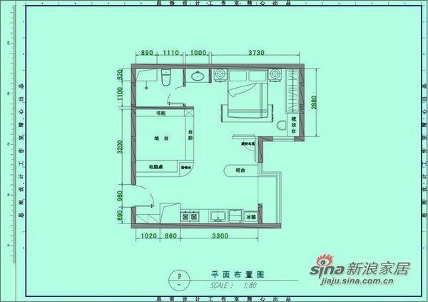 3w打造52平地中海风格单身公主的家