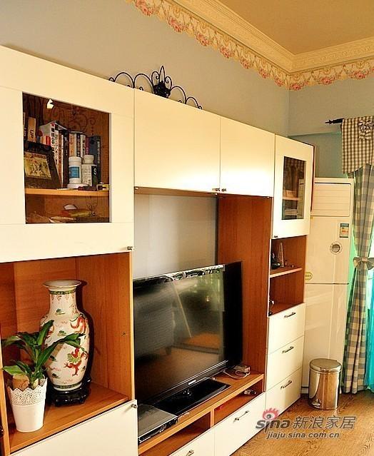 这个是电视柜,比较好的收纳效果。