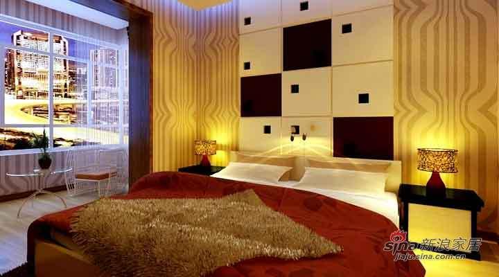 简约 复式 卧室图片来自用户2737786973在8.4万打造江北康桥郡简约复式61的分享