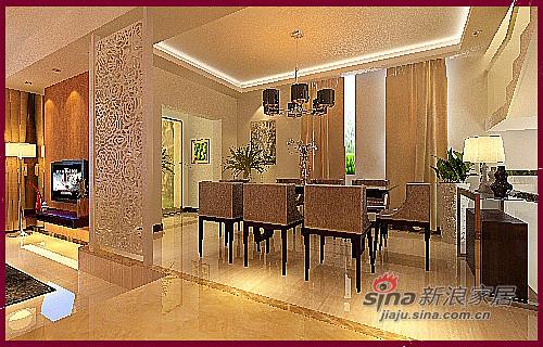 新中式古典风格三居室