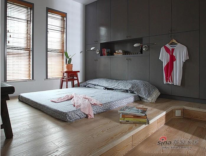 现代 三居 卧室图片来自用户1907684993在12万装混搭时髦夫妻大3居40的分享