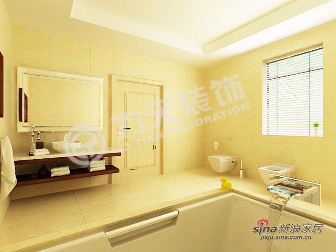 欧式 别墅 卫生间图片来自阳光力天装饰在216平空间优化通用陆院70的分享