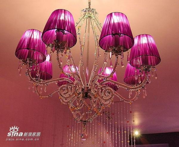 这是主吊灯,购于灯马特施华洛世奇灯饰专卖店.