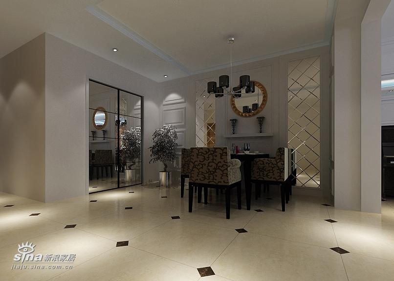 简约 别墅 餐厅图片来自用户2559456651在现代简约的褐石别墅设计45的分享