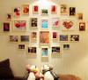 """""""很有爱的一款照片墙~~温馨的生活照就放在这里吧~"""""""