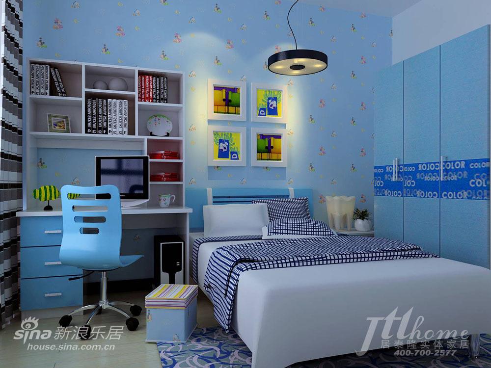 简约 三居 儿童房图片来自用户2738093703在惬意暖阳之春意怡人58的分享