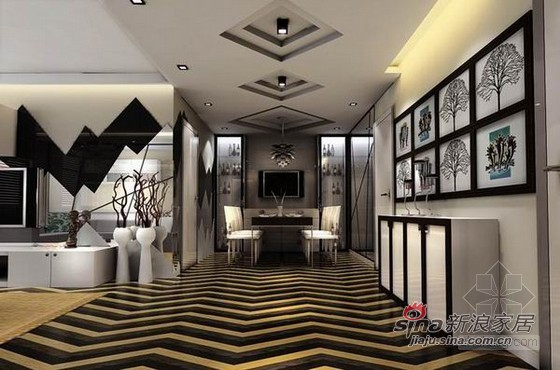 其他 别墅 客厅图片来自用户2558757937在时尚混搭风尚样板间82的分享