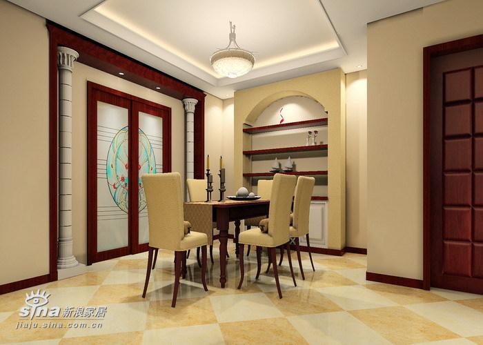 欧式 三居 餐厅图片来自用户2746953981在颐清家园47的分享