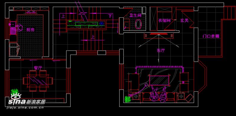 简约 别墅 户型图图片来自用户2557010253在空间生华49的分享