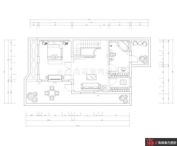 欧式 别墅 户型图图片来自用户2745758987在【高清】200平典雅欧式风情42的分享
