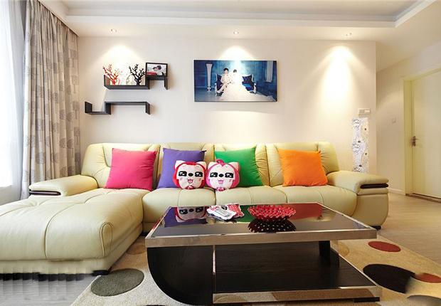 客厅 家装 简约 现代图片来自用户2771736967在屌丝变文艺 11款极具文艺时尚气息的客厅的分享