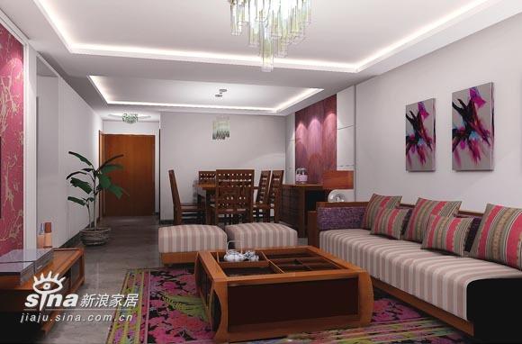 其他 三居 餐厅图片来自用户2558757937在7万元装修135平米混搭风格三居31的分享