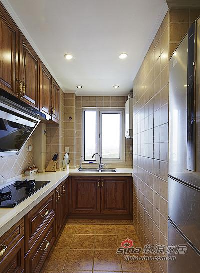 混搭 二居 厨房图片来自装修微日记在【高清】89平现代美式混搭二人世界91的分享