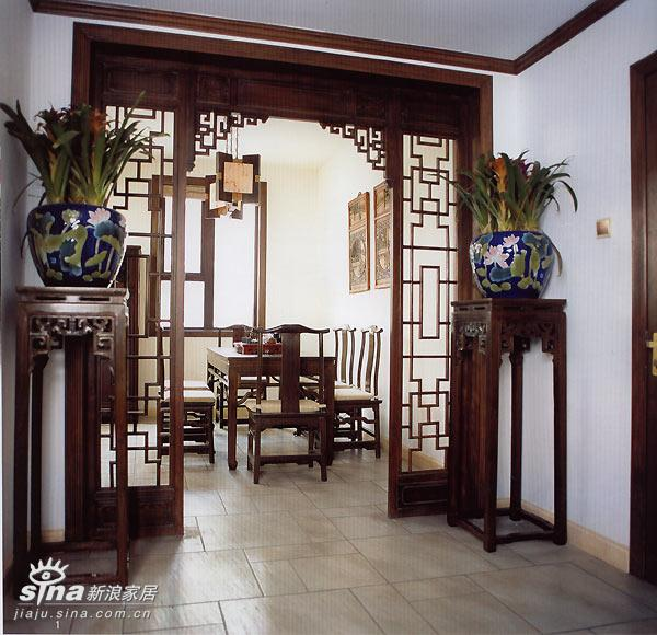 中式 跃层 玄关图片来自用户2748509701在中式家居58的分享