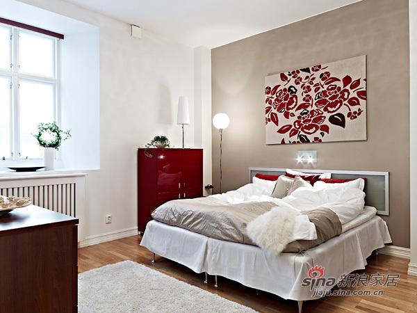 简约 二居 卧室图片来自用户2739081033在强悍女4万装70平精美二居29的分享